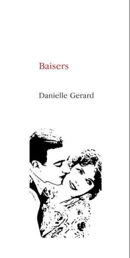 Baisers (Danielle Gerard) poésie