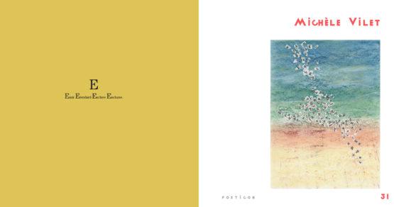 Poeticon#4 texte-image de Michèle Vilet