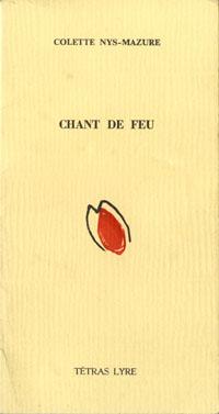 Chant de feu (Colette Nys-Mazure)