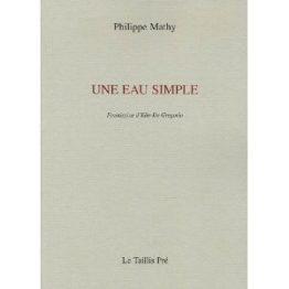 Une eau simple (Philippe Mathy)