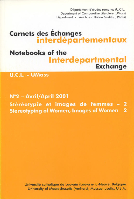 Carnets des Échanges interdépartementaux N°2 - Avril 2001