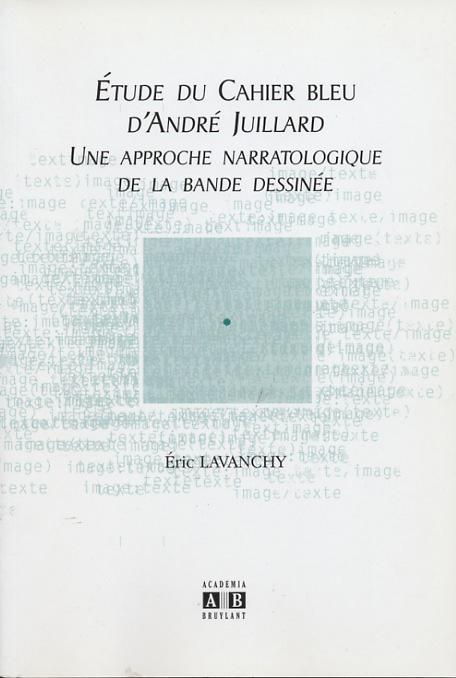 Étude du Cahier bleu d'André Juillard