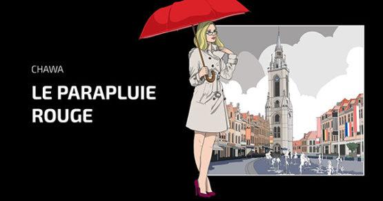 Le parapluie rouge BD Chawa